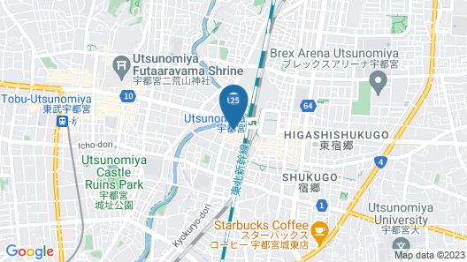 Chisun Hotel Utsunomiya Map