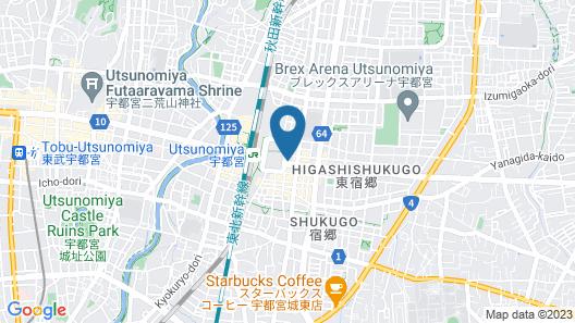 Daiwa Roynet Hotel Utsunomiya Map