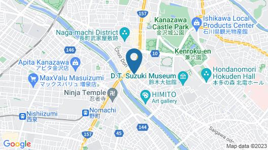 Smile Hotel Kanazawa Map