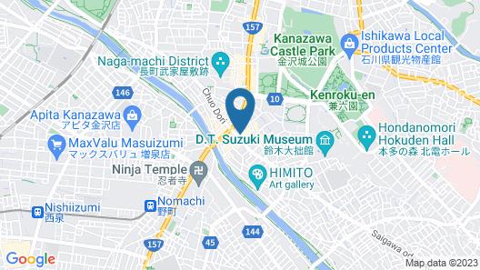 Hotel Trend KanazawaKatamachi Map