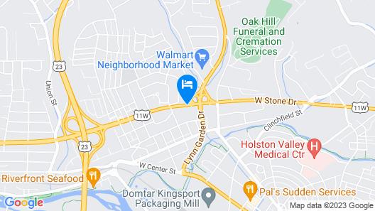 Westside Inn Map