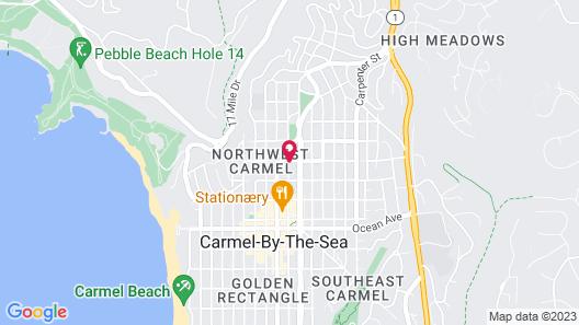 Tradewinds Carmel Map