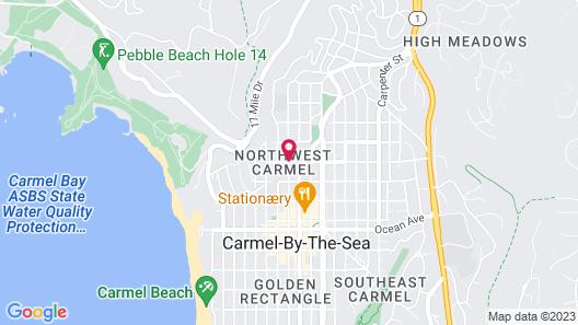 Carmel Country Inn Map