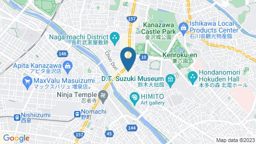 Murataya Ryokan Map