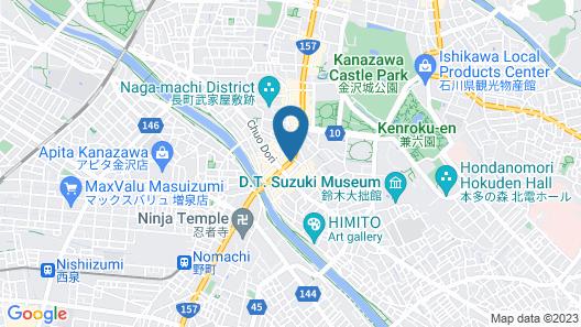 APA Hotel Kanazawa-Chuo Map