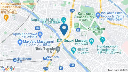 Hotel Econo Kanazawa Asper Map