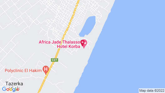 Africa Jade Thalasso Map