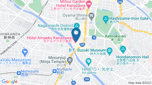 Agora Kanazawa Map