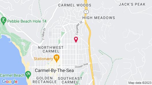 Carmel Resort Inn Map
