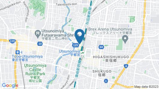 JR-EAST HOTEL METS UTSUNOMIYA Map