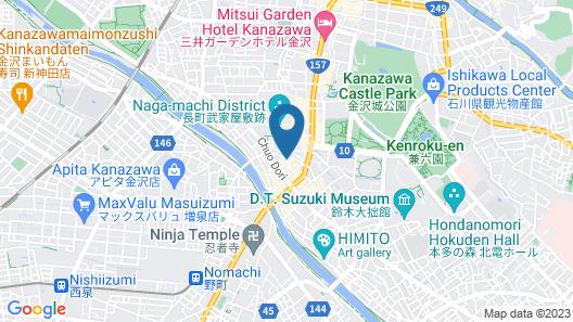 Midnight Rockers - Hostel Map