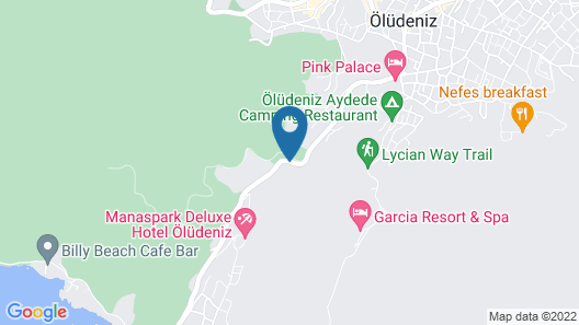 Oludeniz Loft Hotel Exclusive - Adults Only Map