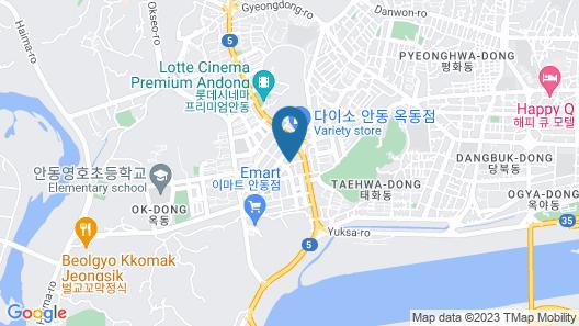 Andong Okdong Equus Map