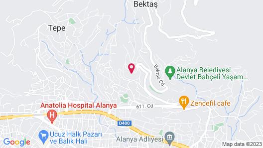 Alanya Deniz Villa Map