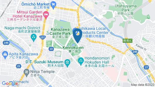 HOUSE HOTEL KENROKUZAKA Map