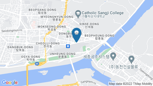Andong Park Hotel Map