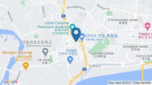 Andong Okdong Stay Map