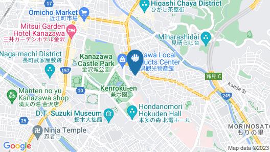 Camellia Inn Map