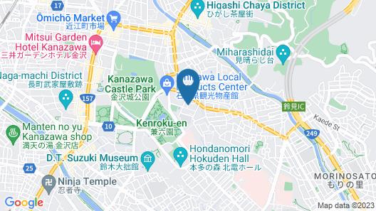 Kanazawa Annex Kocho Map