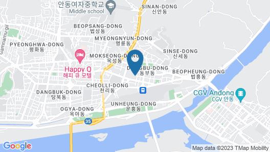 Andong Hotel Map