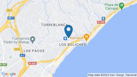 Hotel Monarque Torreblanca Map