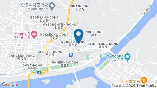 Andong Gogung Motel Map