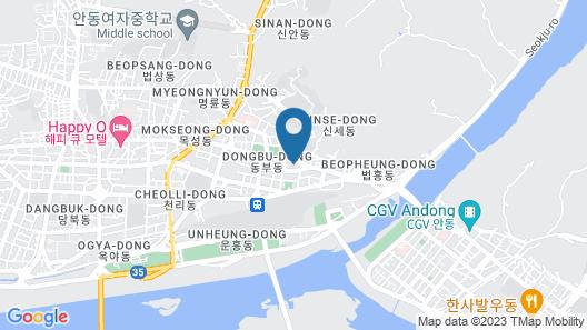 W Motel Map