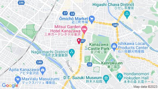 Kanazawa New Grand Hotel Premier Map