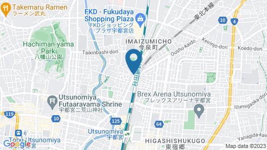 Hotel EL Tochigi 3 Map