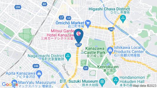Tokyu Stay Kanazawa Map