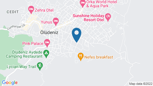 Antas Deluxe Apartments Map
