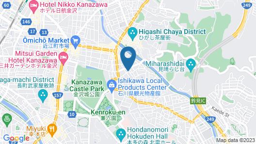 Zaimoku-an Map