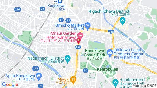 KUMU Kanazawa by The Share Hotels Map