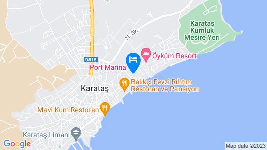 Port Marina Hotel Map