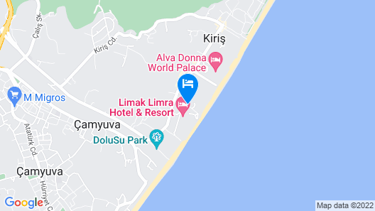 Limak Limra Hotel & Resort - All Inclusive Map