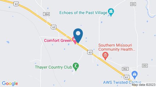 Comfort Green Motel Map