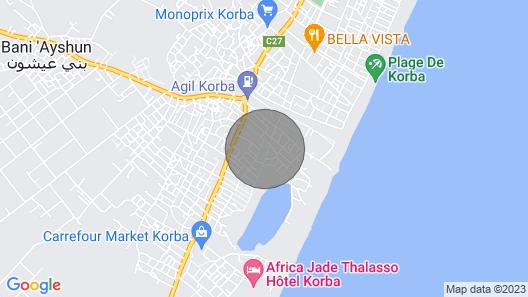 House the Jasmine in Korba Map