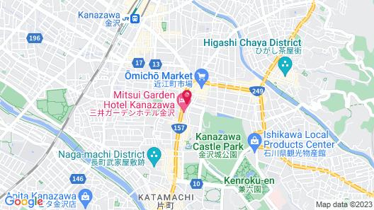 UNIZO INN Kanazawa Hyakumangoku Dori Map