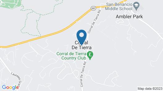 Country Paradise -- 5 Minutes From Mazda Raceway Laguna Seca Map