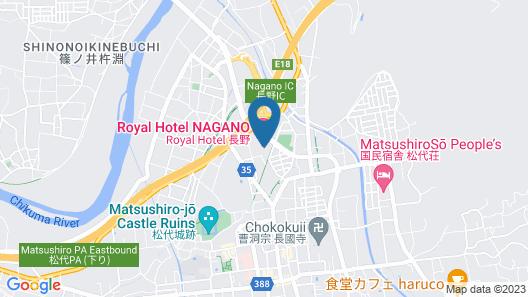 Royal Hotel NAGANO Map