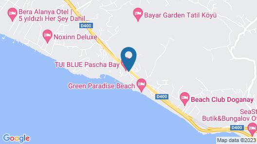TUI BLUE Pascha Bay Map