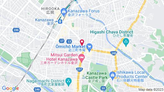 Holiday Inn ANA Kanazawa Sky Map