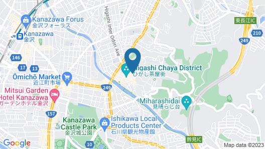 Higashiyama Sho Map