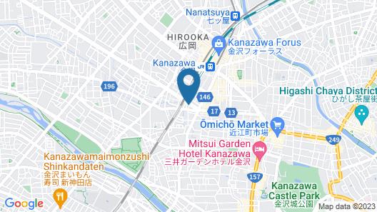 Kanazawa Machiya Kenroku Map