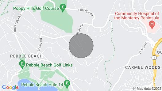 Lx33: Luxury Vacation Villa On Pebble Beach With Pool Map