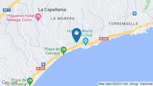HYDROS Hotel & Spa Map
