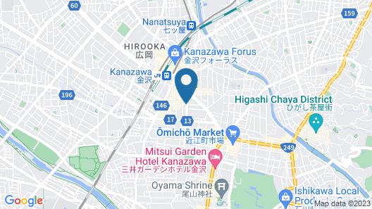 Kanazawa TAMARUYA Map