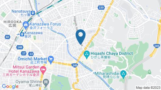 Kanazawa Share House GAOoo Map