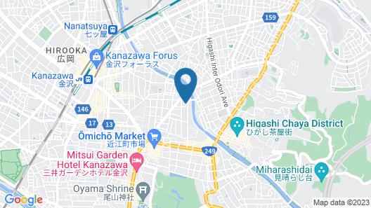 Hikoso-machi Kin no Ma Map