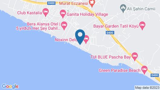 Aria Resort & Spa Map